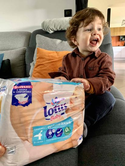 Couche Lotus Baby Natural Touch par Arnaud