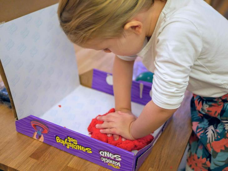Kit Kinetic Sand par Cindy