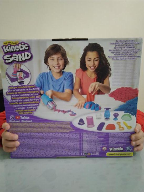 Kit Kinetic Sand par Laurent
