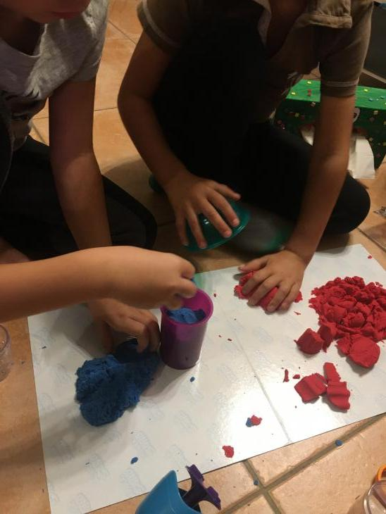 Kit Kinetic Sand par Jeremy