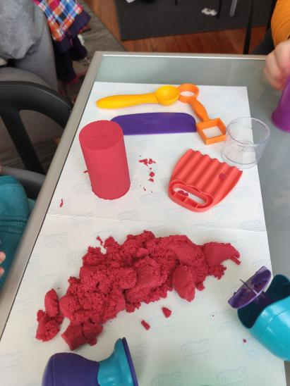 Kit Kinetic Sand par Sebastien