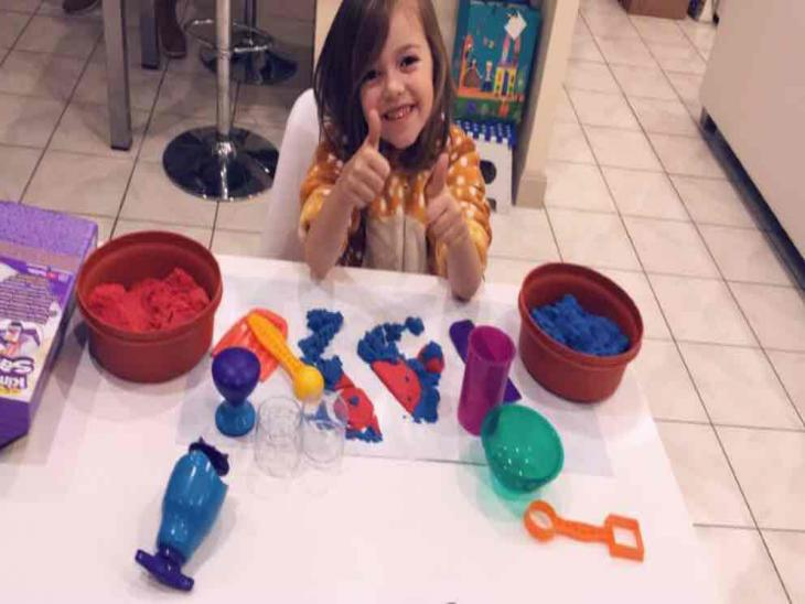Kit Kinetic Sand par Sandy