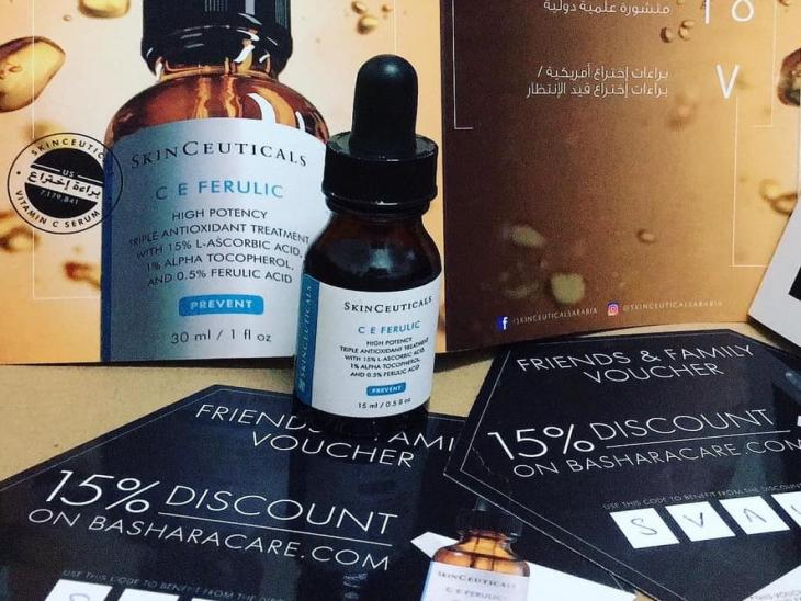 The Antioxidant Serum: C E Ferulic par Heba