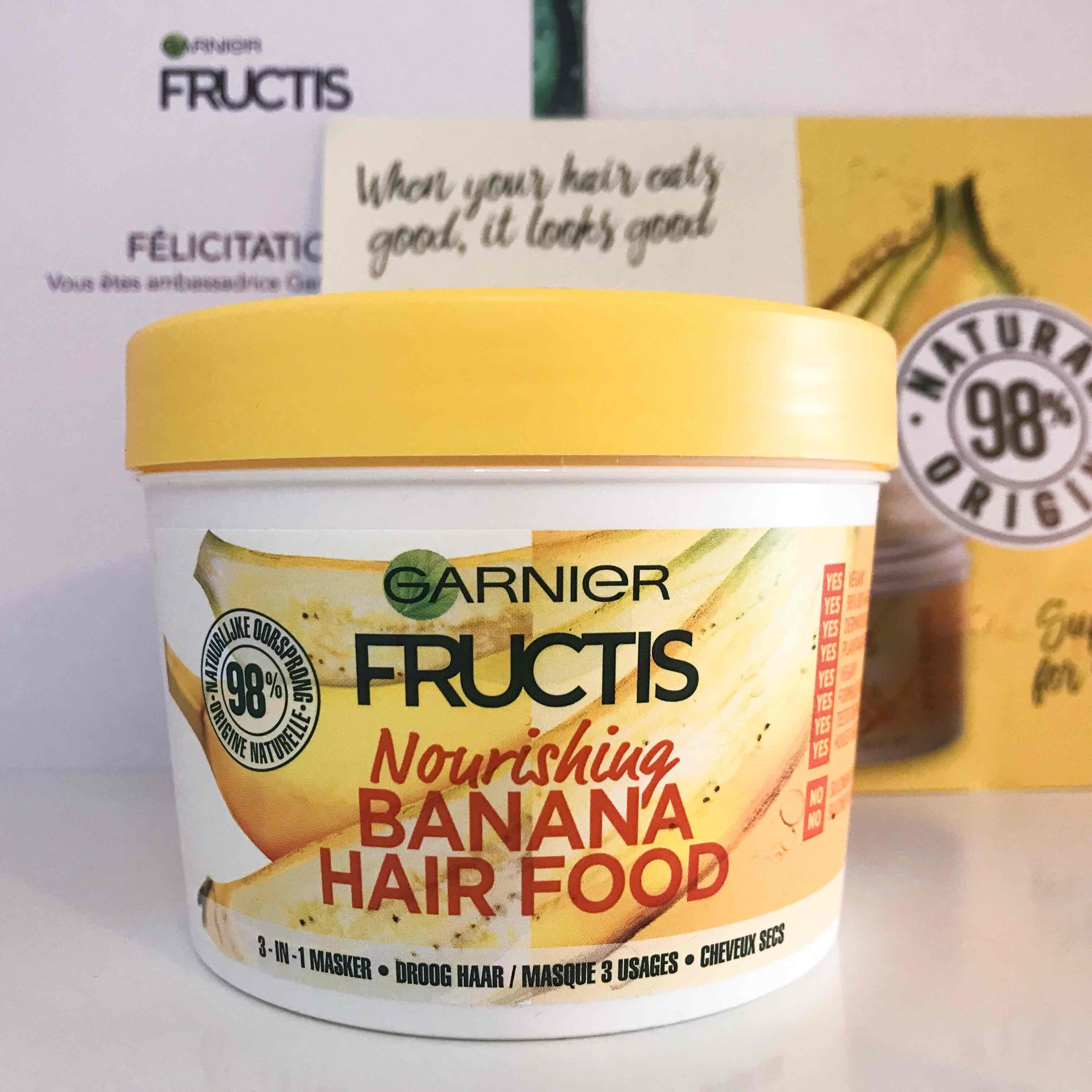 Masque Fructis HAIRFOOD par Madila