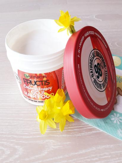 Masque Fructis HAIRFOOD par Sandra