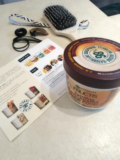 Masque Fructis HAIRFOOD par Silvie