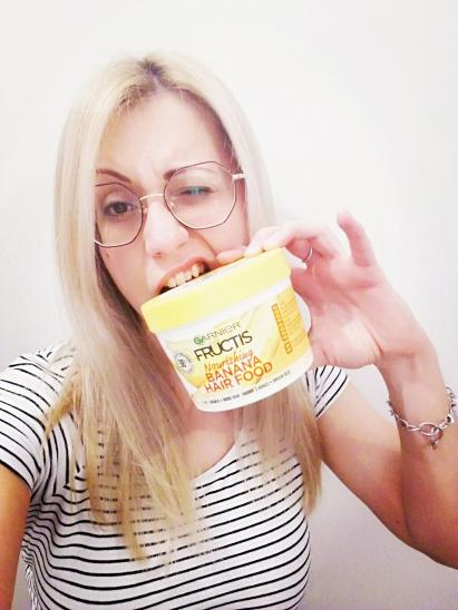 Masque Fructis HAIRFOOD par Aurélie