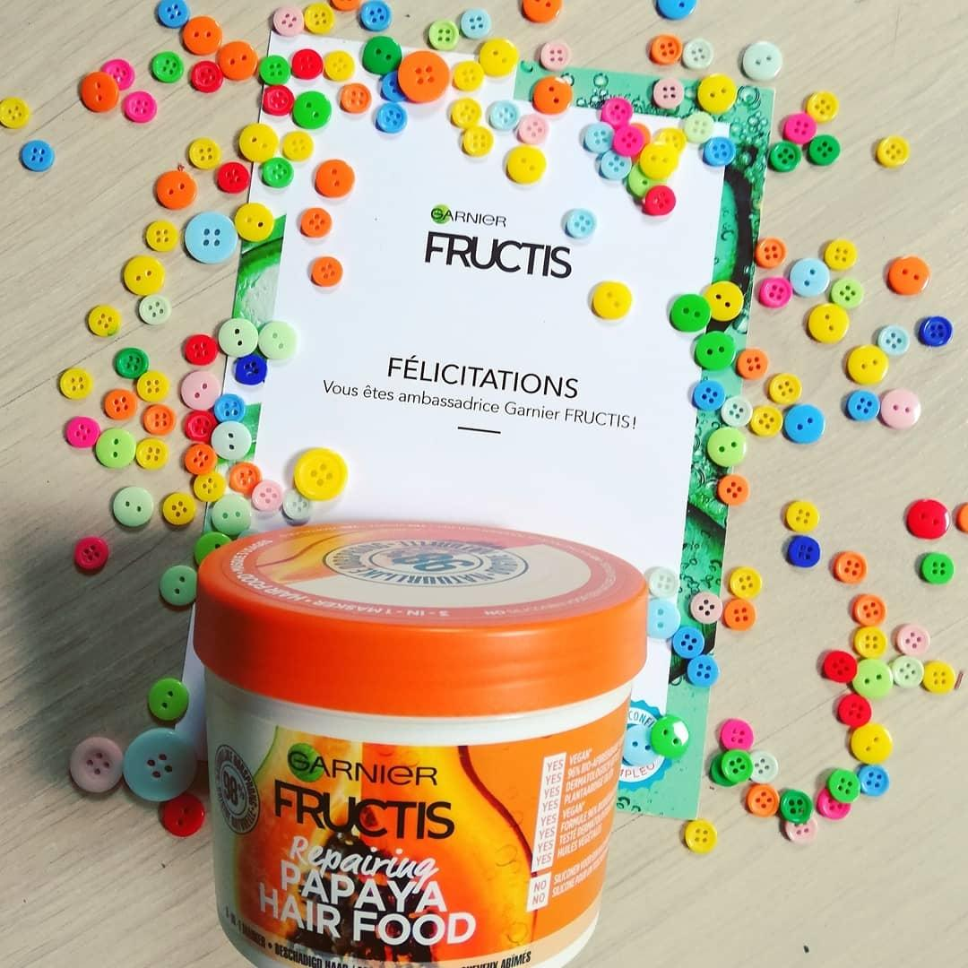 Masque Fructis HAIRFOOD par Justine
