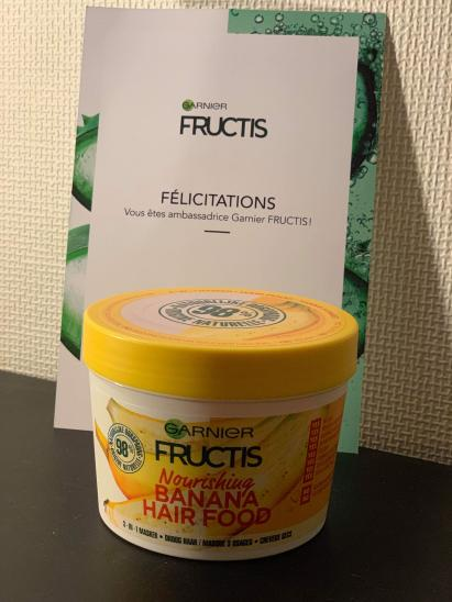 Masque Fructis HAIRFOOD par Ingrid