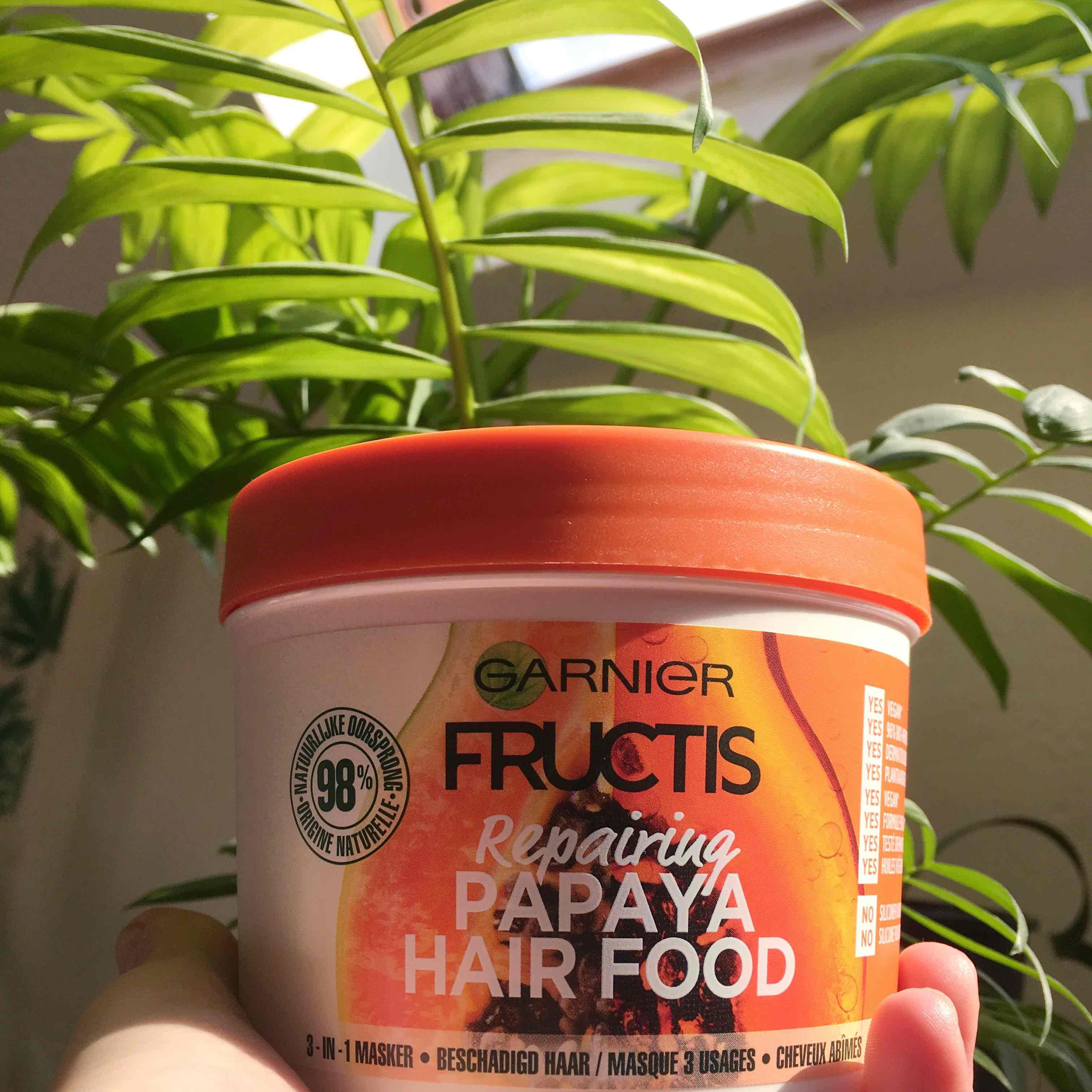 Masque Fructis HAIRFOOD par Sylviane