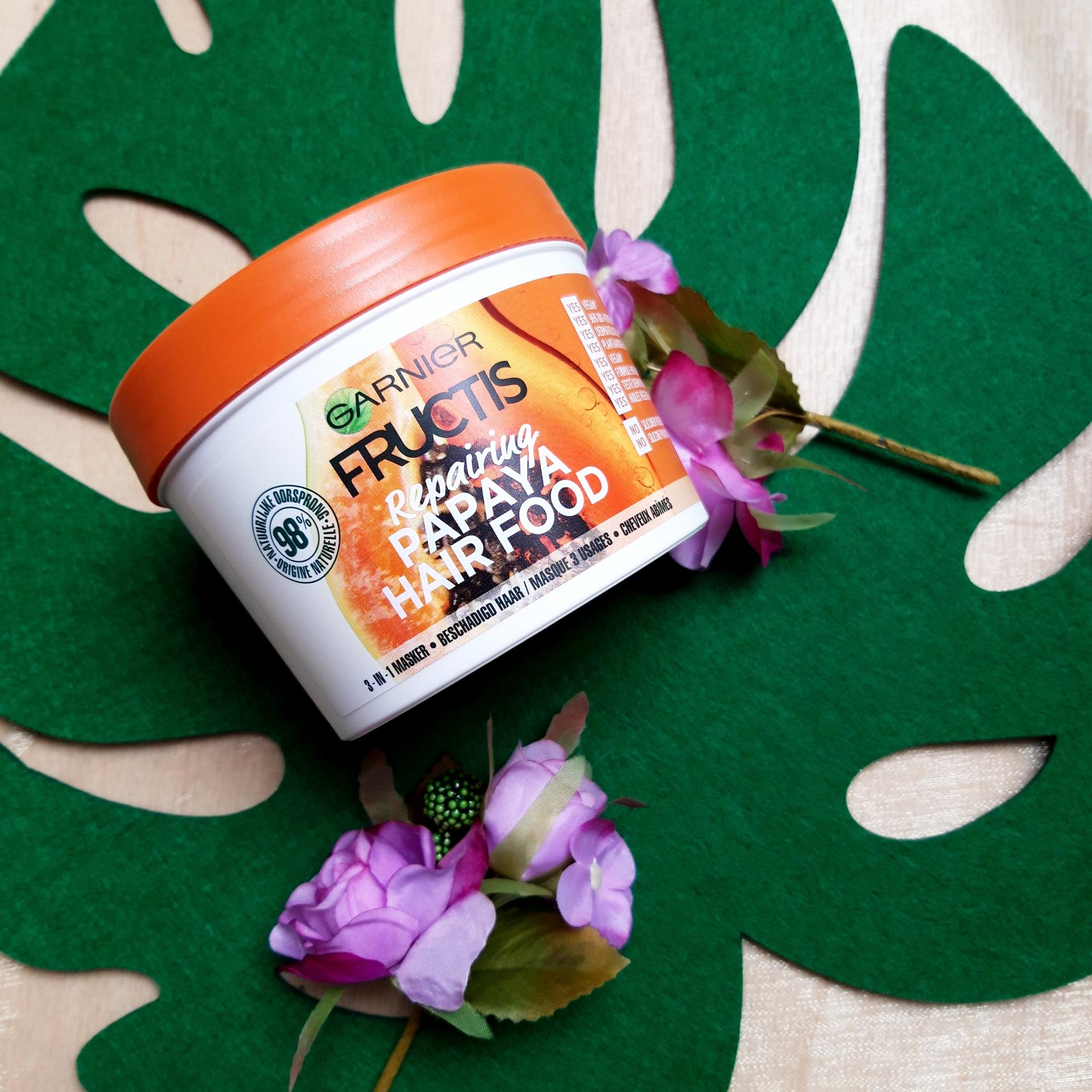 Masque Fructis HAIRFOOD par Virginie
