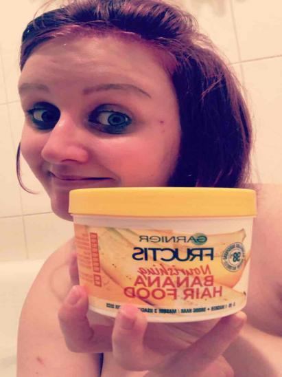 Masque Fructis HAIRFOOD par Alix