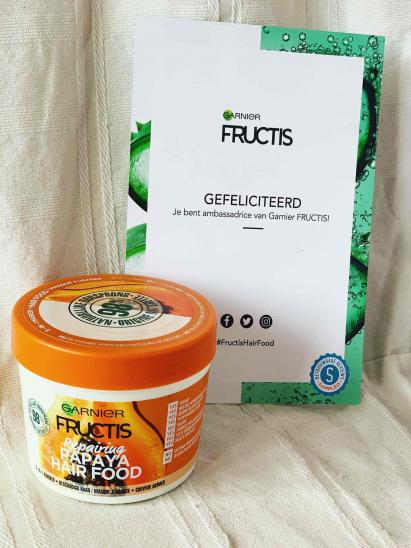 Masque Fructis HAIRFOOD par Sanne