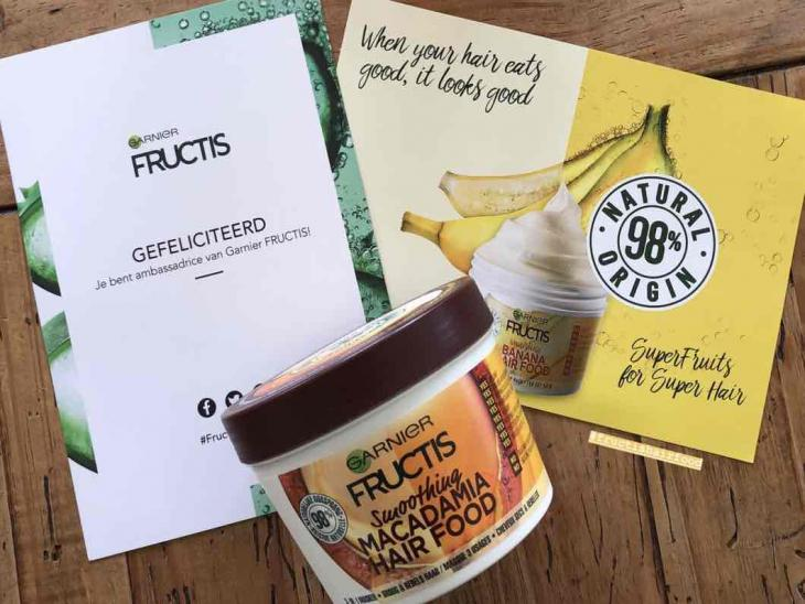 Masque Fructis HAIRFOOD par Kyra
