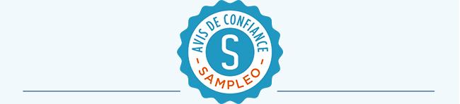 Les avis de confiance certifiés Sampleo